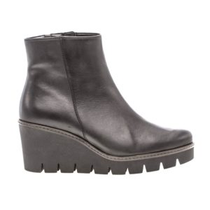 Ladies Boot - Gabor Utopia Leather Black Boot