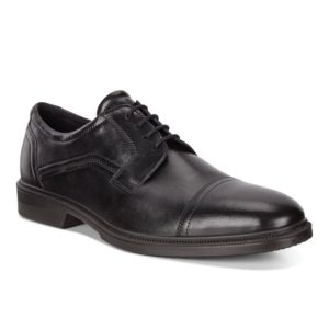 Mens Shoe - ECCO Lisbon Black lace up dress shoe