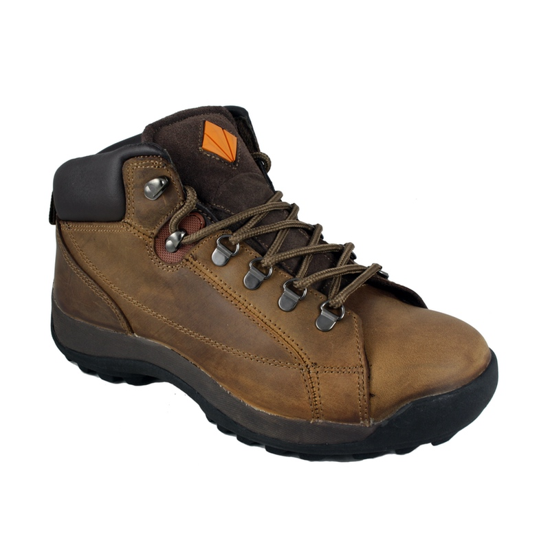 Work boot - ET Safety brown boot