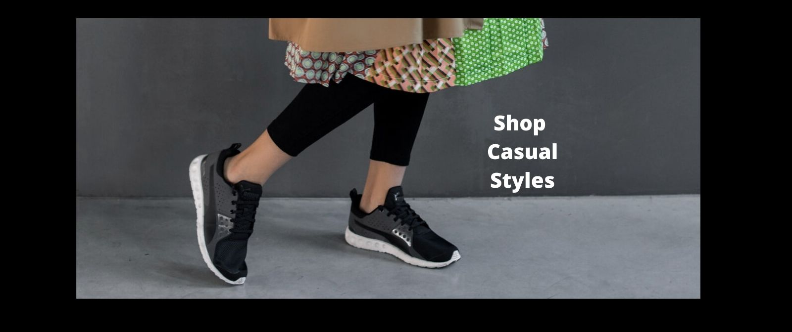 Black Casual Styles Slide