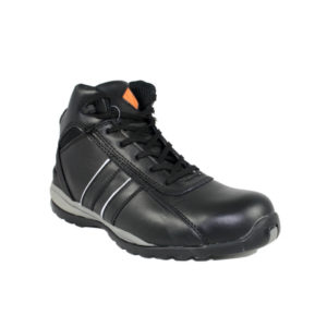 C8137 Resized Black Work Boot