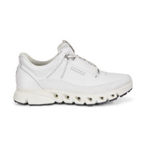 ECCO Multi-Vent White Casual Shoe Side 88012301007