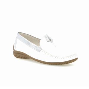 Gabor California Mocassin White Silver RS2 - 4609050