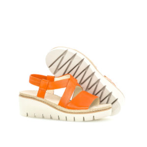Gabor Contract Orange Wedge Sandal Pair 2RS - 4463122