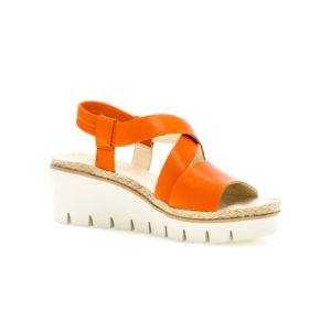Gabor Contract Orange Wedge Sandal RS - 4463122