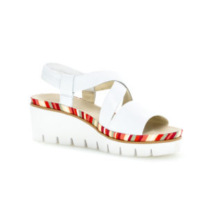 Gabor Contract Wedge Sandal White RS - 4463120