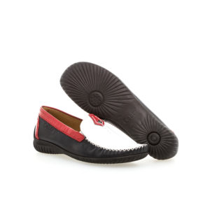 Gabor Mocassin Navy White Red Shoe Pair 2RS - 4609068