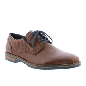 Rieker Mens Brown Shoe - 1351424