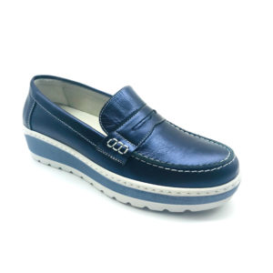 Notton-Blue-Metallic-Loafer