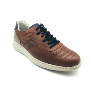 Notton Libano Brown Casual Mens Shoe Front - 151