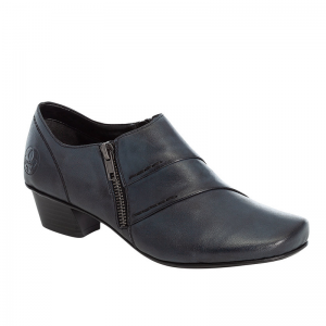 Rieker-Ladies-Navy-Ladies-Shoe-Low-Heel-Side-Zip-Fastening