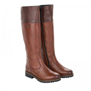 Remonte Ladies Tan Knee High Boot Pair R6581-22